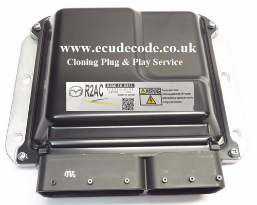 R2AC18881L | 275800-9168 | Mazda 6 2.2 Diesel Plug & Play Cloning Service From ECU Decode