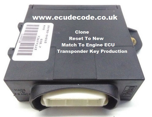 89780-0H011 | 736771-A Citroen | Peugeot | Toyota Immobiliser Box Plug & Play Services