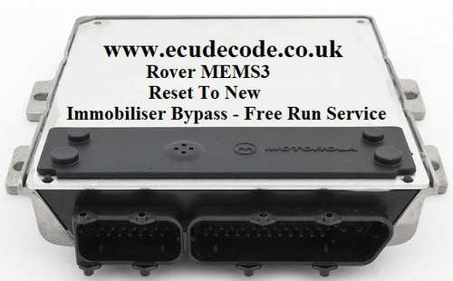 Rover MEMS 3 Plug & Play| Clone | Reset To New | Immobiliser Bypass | All Versions Using 5AS & Pektron Immobiliser Systems From ECU Decode Westbury Wiltshire