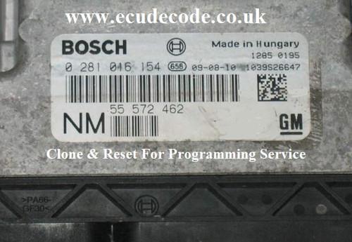 55572462 | 0281016154 | SAAB 93 1.9 TTiD EDC16 Plug & Play Services From ECU Decode Westbury Wiltshire UK