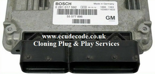 0281015212 | 0 281 015 212 | 55568896 | EDC16C39 | Plug & Play Services Caddilac -Opel - Saab - Vauxhall From ECU Decode UK