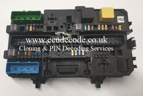 Vauxhall - Opel  Hella REC  Rear Fuse Box | Cloning  |Decoding PIN Services From ECU Decode Westbury Wiltshire GB