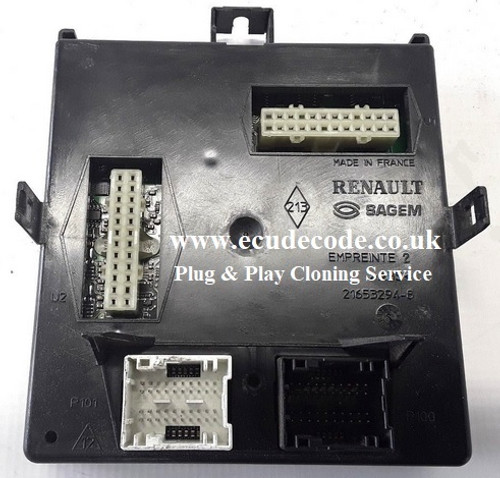 8200447514 | 8200500344 | 8200371619 | X74 Renault Laguna Fuse Box Interface Module Plug & Play Service ECU Decode UK