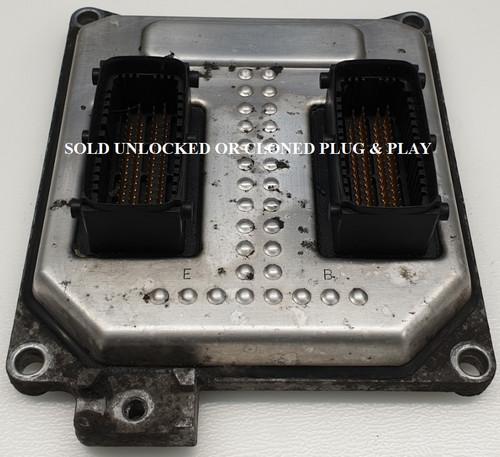 55568735 | 5WK9463 | SIMTEC 75.5 Vauxhall Astra - Zafira Engine ECU Unlocked Or Cloned Plug & Play No Programming Required