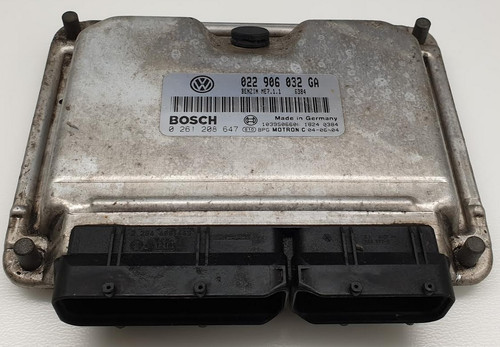 0261208647 | 022906032GA | ME7.1.1 | Touareg Plug & Play ECU Clone or Immobiliser Bypass Included with this ECU.