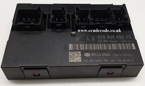 03C959433AB, 5DK 009 064-04, VW Passat Convenience / Comfort Module sold including cloning service from ECU Decode Limited.
