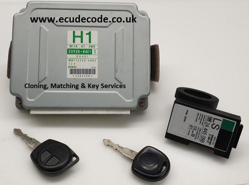 33920-84E1 | 084E1 | M13A AT 2WD H1 | MB112200-6442 | Suzuki Vitara | Immobiliser Matching and Cloning Services from ECU Decode Ltd Westbury Wiltshire UK