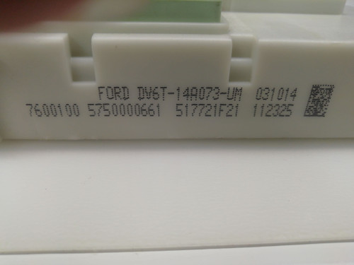 DV6T-14A073-UM | 517721F21 | Ford Body Control Module (BCM) from ECU Decode Ltd