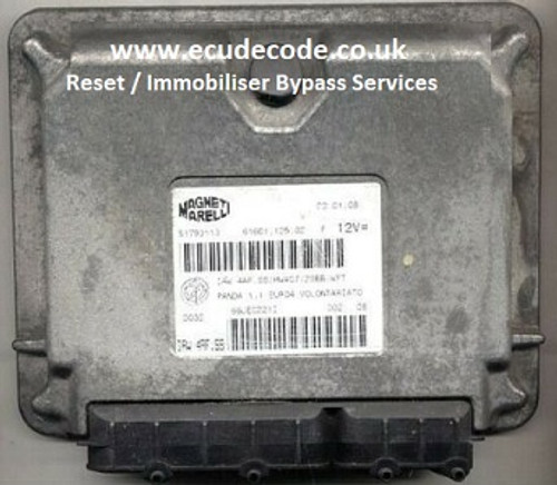 51793113   55196260   IAW 4AF.SS   Fiat Reset / Immobiliser Bypass Petrol ECU Services