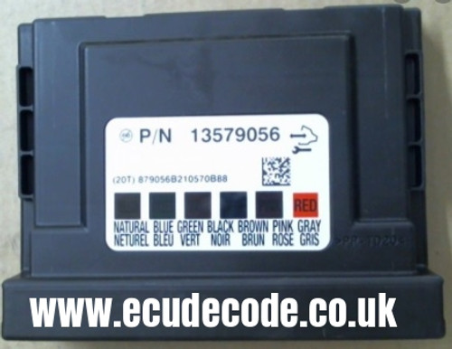 13579056   VAUXHALL   OPEL   COMFORT MODULE   BCM   BODY CONTROL MODULE WITH CLONING SERVICE