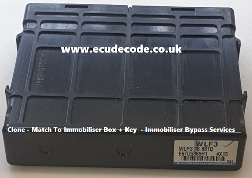 E6T05385H1 | WLF3 | 18 881D | Ford Ranger Mitsubishi Diesel ECU - Clone - Immobiliser Bypass Service