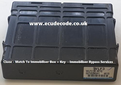 E6T05375H1 | WLE9 | 18 881D | Ford Ranger Mitsubishi Diesel ECU - Clone - Immobiliser Bypass Service