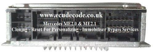 Mercedes ME2.0 / ME2.1 - Immobiliser Bypass Services From ECU Decode Limited England