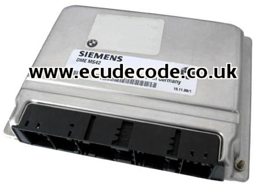 5WK9037 / 7500255 / 7 500 255 / MS42 BMW - ECU Plug & Play From ECU Decode Limited.