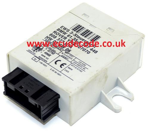 61.35-8387448  / 61358387448  / HW03SW06 / YWC107070  / EWS3   Plug & Play From ECU Decode Limited.