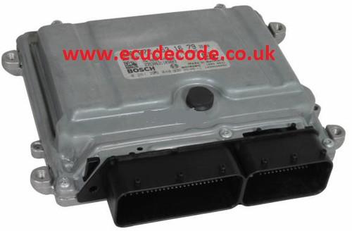 A 272 153 17 79 / 0 261 209 045 / A2721531779 / 0261209045 / ME9.7 Mercedes Petrol ECU Plug & Play ECU Decode.