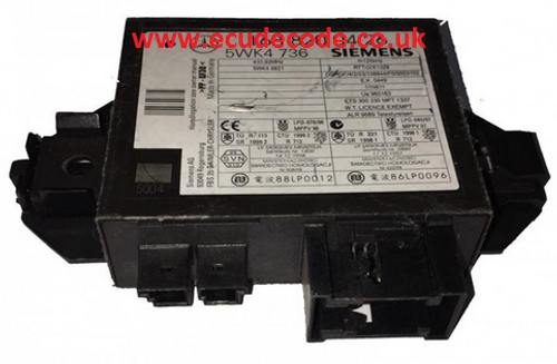 1688200426 / 168 820 04 26 / 5WK4736 / 5WK4 736 Mercedes Immobiliser Module Plug & Play