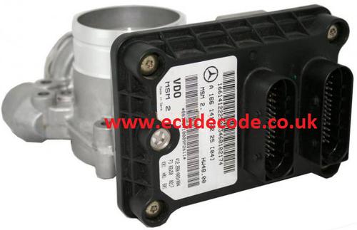 A1661412225 / 412.260/003/004 / A 166 141 22 25 / MSM2 Mercedes Petrol ECU & Air Flow Meter Plug & Play