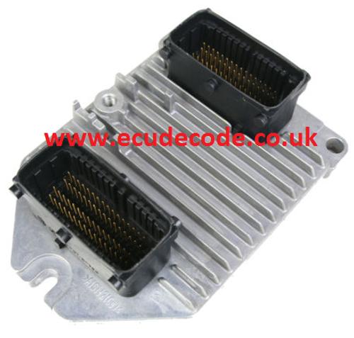 09 158 670 / 09158670 / 5WK9153 / Simtec 71 Vauxhall Petrol ECU Plug & Play