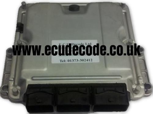 0 281 011 334 / 0281011334 / 96 525 903 80 / 9652590380 Citroen Peugeot Diesel ECU Plug & Play ECU Decode