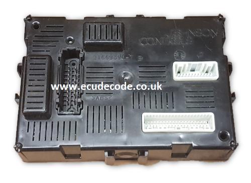 21676338-7A / B V5.03 / 284B2AX601/  BCML2N Nissan Micra UCH  Plug & Play
