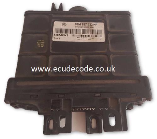 01M927733HF - 01M 927 733 HF 5WK33376 SME-C Auto Gear Box ECU