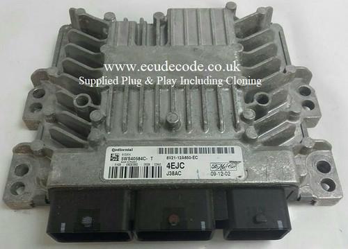 8V21-12A650-EC 5WS40584C-T 4EJC SID206 ECU Plug & Play From ECU Decode