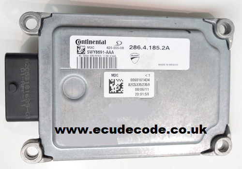 286.4.185.2A  5WY8691-AAA  M3C  Ducati Monster 696 ECU  Plug & Play