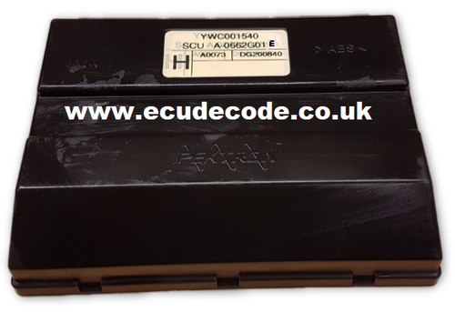 YWC0001540, A-0662G01E,  Rover Pektron Body Control Unit SCU