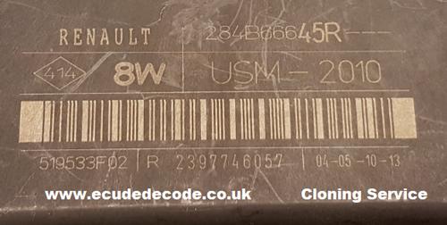 284B66645R  USM-2010  519533F02 R 2397746057 Renault Body Module  Plug & Play