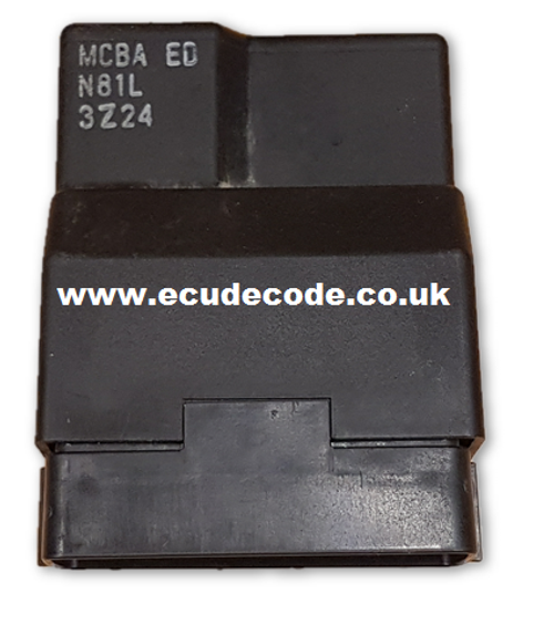 Service MCBA ED N81L 3Z24 Honda Bike ECU Cloning Plug & Play