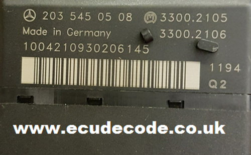 C Class EZS Cloning & Key Production including unlocking previously used keys and adding.