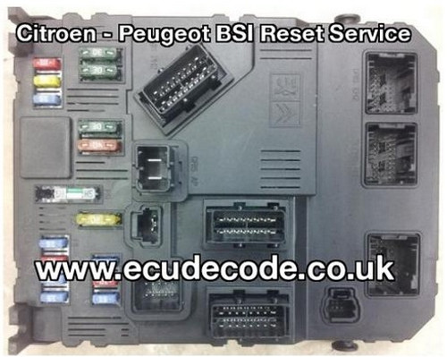 118085320 C - E01-00 - E01-00 - HG - 9652474680 - Reset For Matching Pin Decoding BSI Services