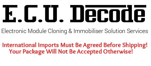 ECU Decode Limited