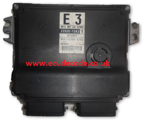 33920-72K3 / MB112300-8282 /Suzuki Petrol Engine ECU Plug & Play