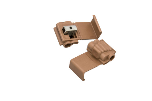 Brown Connectors - Package of 10