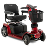 Pride ZT10 Zero Turn 4-Wheel Scooter in Red