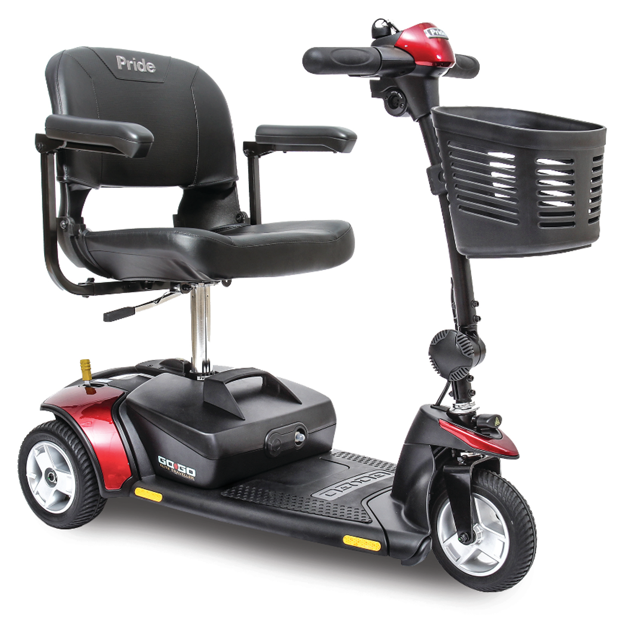 Pride Go-Go Elite Traveller 3-Wheel Scooter | Mobility Masters