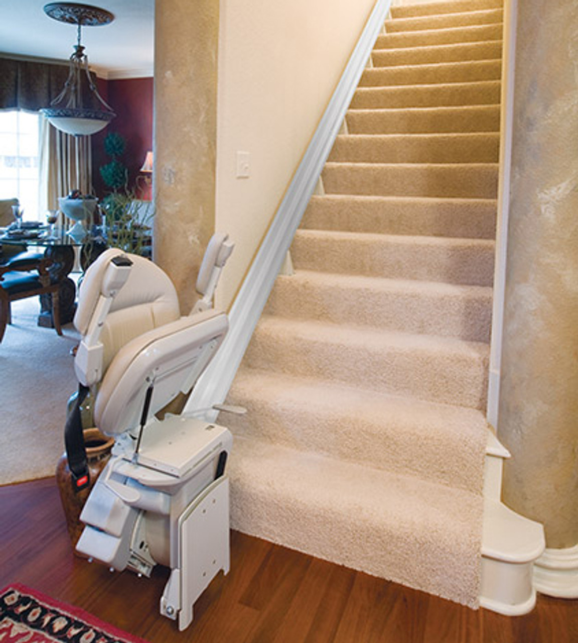 Elite Indoor Straight Rail Stair Lift by Bruno