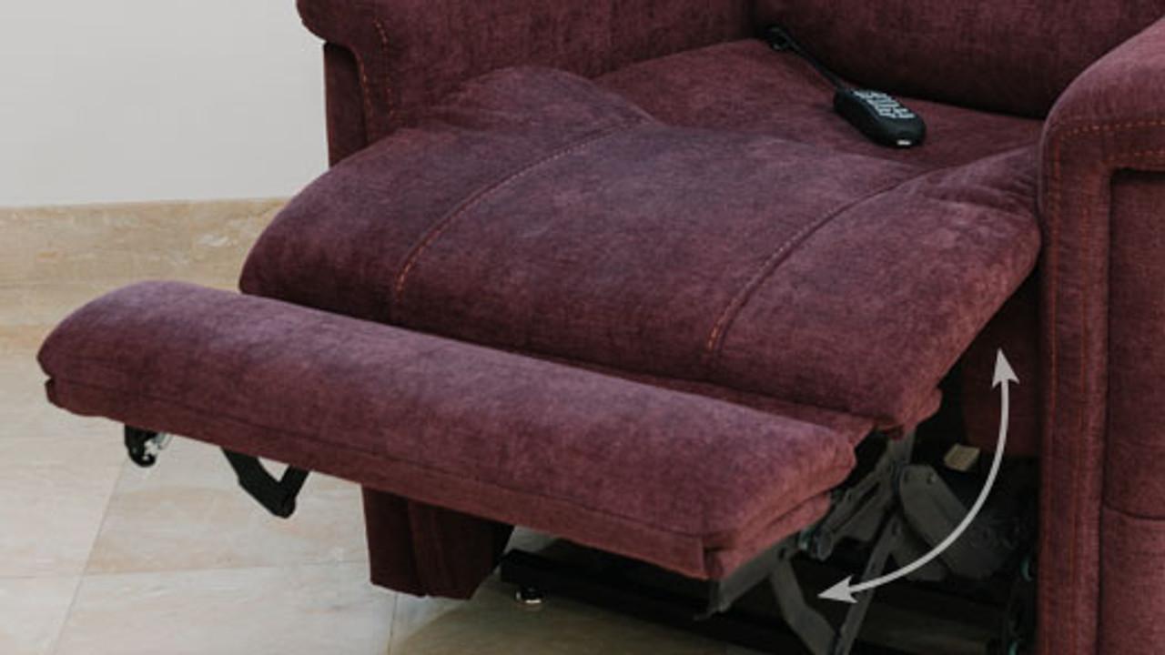VivaLift! Urbana Lift Chair PLR965M Foot Rest Extension