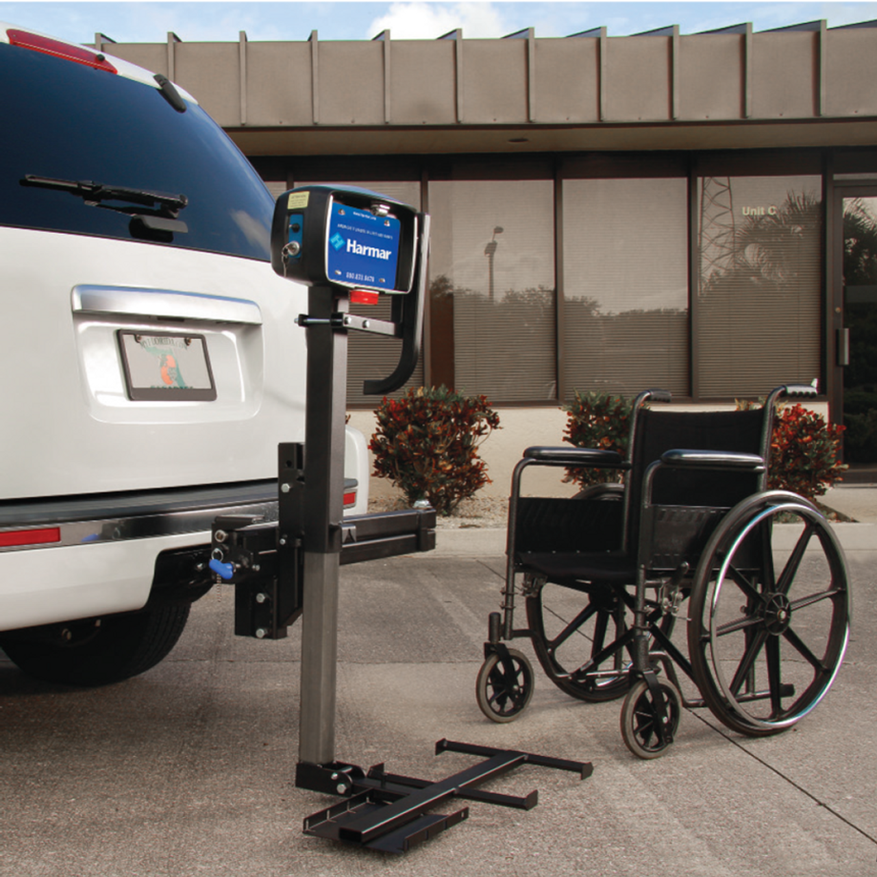 AL030 Power Tote Manual Wheelchair Carrier on