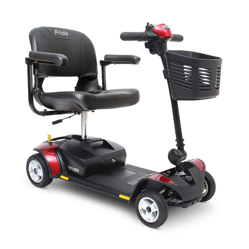 Go-Go Elite Traveller 4-Wheel Scooter by Pride Mobility