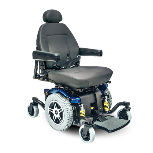 Jazzy 614 HD Power Wheelchair by Pride Mobility