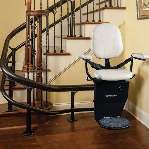 CSL500 Helix Curved Stair Lift by Harmar