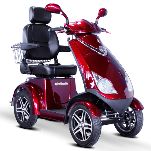 Red EW-72 Recreational Scooter by EWheels