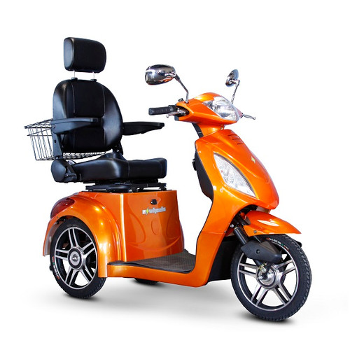 Orange EW-36 Recreational Scooter by EWheels