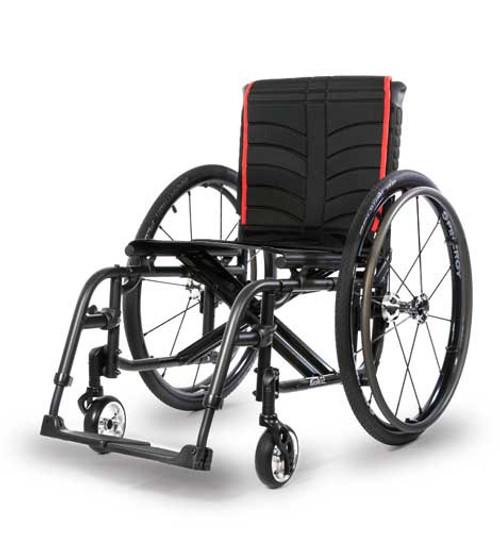 Quickie 2 Lightweight Folding Wheelchair by Sunrise