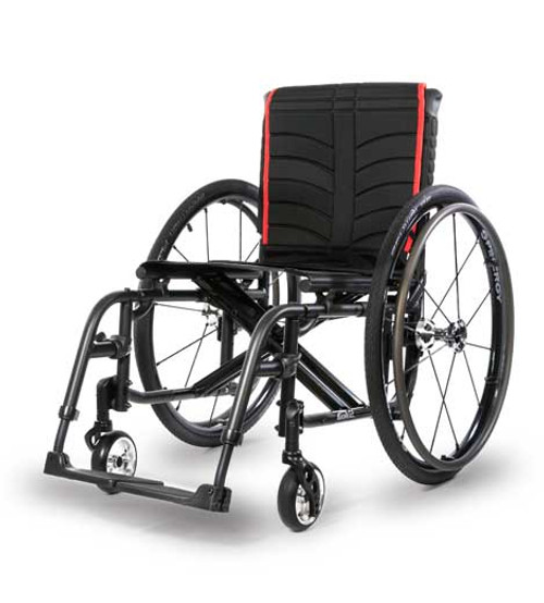Quickie 2 Lightweight Folding Wheelchair by Sunrise