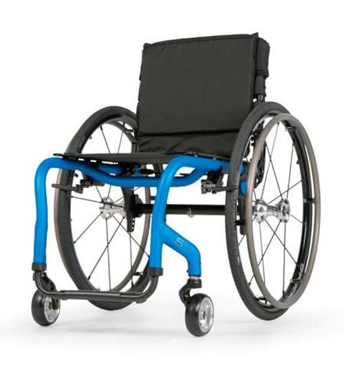 Quickie 5R Lightweight Rigid Wheelchair by Sunrise