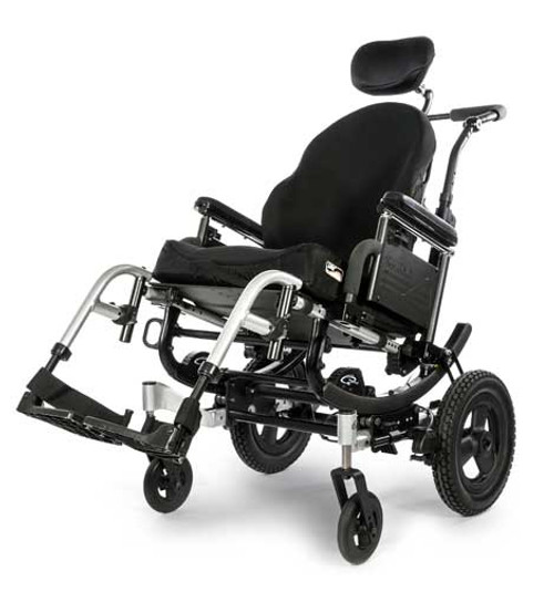 Quickie Iris Tilt-In-Space Wheelchair by Sunrise